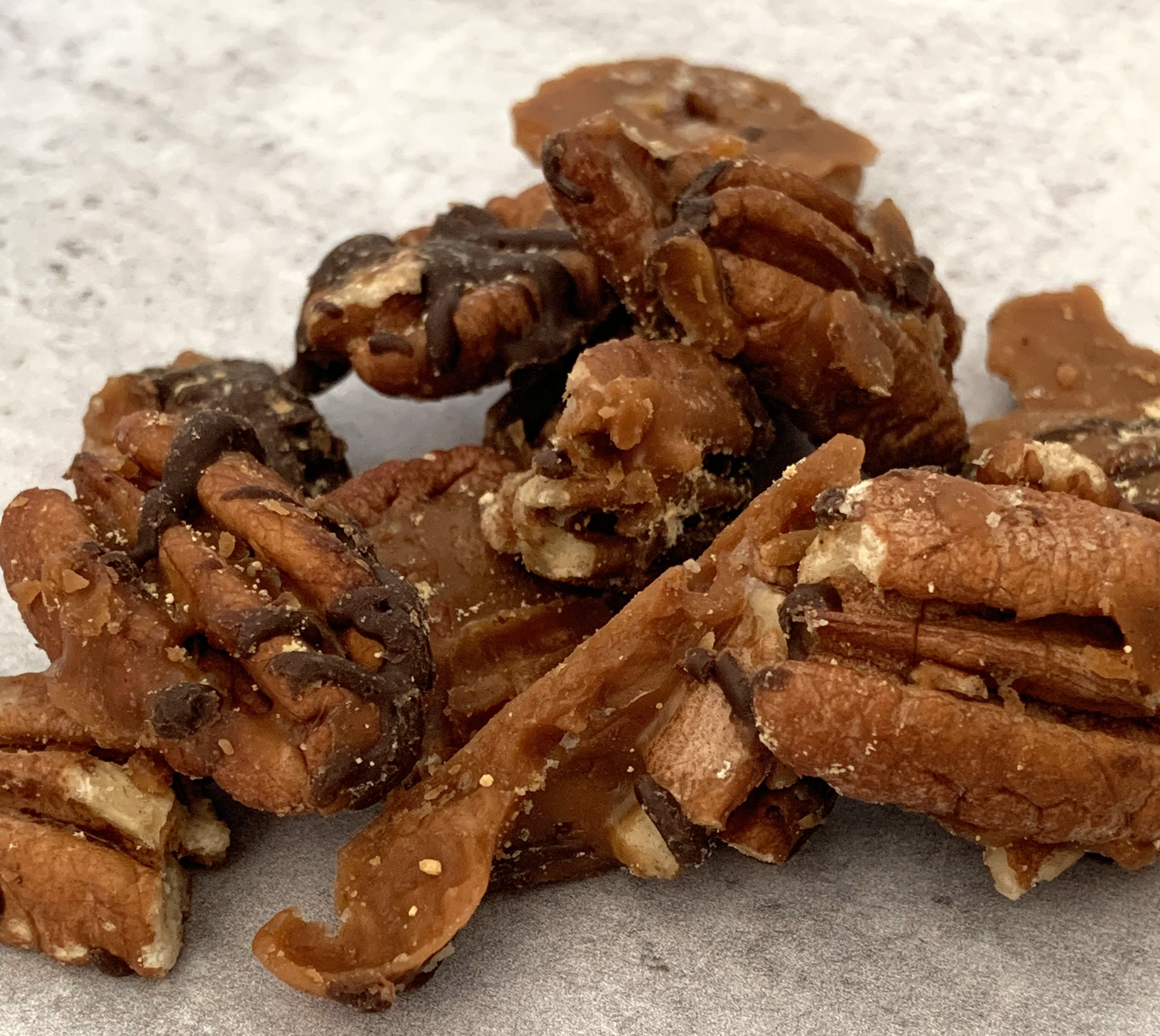 Chocolate Peanut Butter Toffee Krunchies