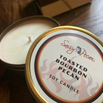 Toasted Bourbon Pecan Soy Candle